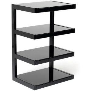 Norstone Esse hifi meubel zwart/zwart-0