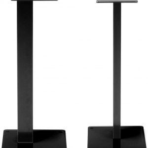 Norstone Esse luidsprekerstands (setprijs) zwart/zwart-0