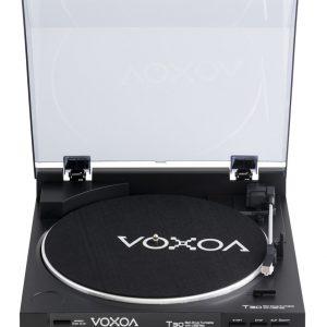 Voxoa T30 platenspeler vol automatisch met USB en phono pre-0